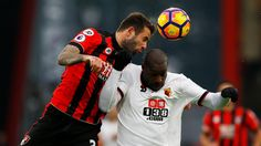 See the standout pictures from the latest round of Premier League fixtures Premier League Fixtures, Afc Bournemouth, Watford, Cool Photos