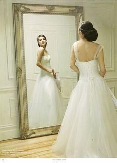 KAREN WILLIS HOLMES - Wedding dress - Betsy  From Melbourne Bride magazine. Image Tony Owczarek.