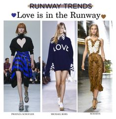 """""""Love is in the Runway : NYFW SS17 Runway Trend"""" by nindi-wijaya ❤ liked on Polyvore featuring Proenza Schouler, Rodarte and NYFW"""