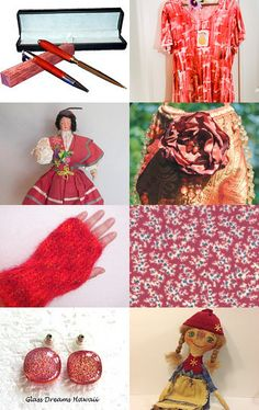Treasury Of True Non-Faerie Gifts - - - Summer Red! by Patty andLittleGuy on Etsy--Pinned with TreasuryPin.com #integritytt