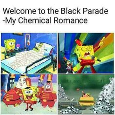 Basically just a bunch of My Chemical Romance memes that I post becau… Emo Band Memes, Mcr Memes, Music Memes, Emo Bands, Music Bands, Funny Memes, Hilarious, Stupid Memes, Edgy Memes