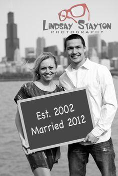 Fun Engagement Idea... Facebook.com/LindsayStaytonPhotography
