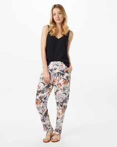 Phase Eight Marguerite Print Trousers Multi