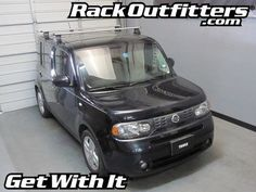 Nissan Cube Thule Rapid Traverse SILVER AeroBlade Roof Rack '09-'14*