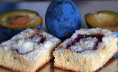 Slivkový koláč s posýpkou Czech Recipes, Cheesecake, Muffin, Food Porn, Pie, Baking, Breakfast, Desserts, Basket
