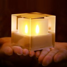 Solar Powered LED Candle