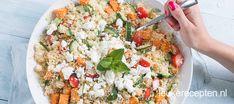 Couscous salade met zoete aardappel - Leuke recepten