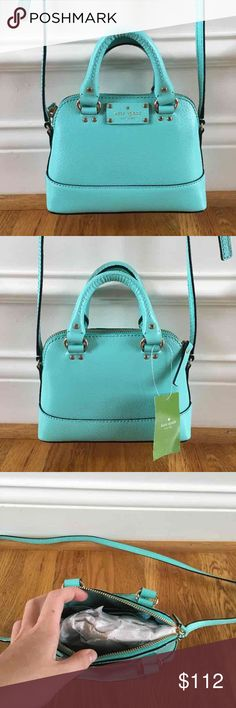 ❗️SALE❗️$198 Kate Spade crossbody New with tags $198 Kate Spade crossbody in mini Rachelle wellesley in freshair// brand new, perfect condition, never worn before. Kate Spade Bags Crossbody Bags