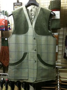 Gents 'Glen' shooting vest.