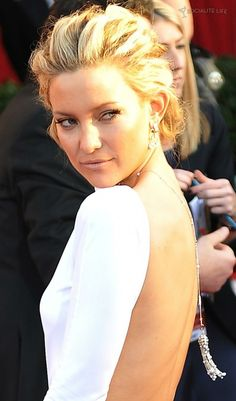Kate Hudson Sag Awards Red Carpet Photos Hair