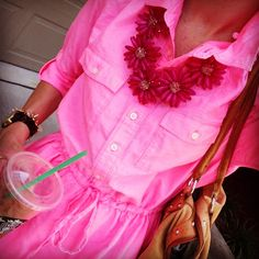 Monochromatic pinks.