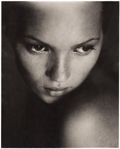 A young kate moss!
