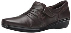 online shopping for CLARKS Clarks Women's Everlay Coda Flat from top store. See new offer for CLARKS Clarks Women's Everlay Coda Flat Clarks Shoes Women, Clarks Boots, Oxford Boots, Oxford Sneakers, Women Oxford Shoes, Soft Heels, How To Dye Shoes, Dark Brown Leather, Partner
