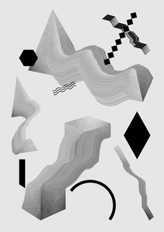 Abstract illustrations on Behance  Hans Christian Oren