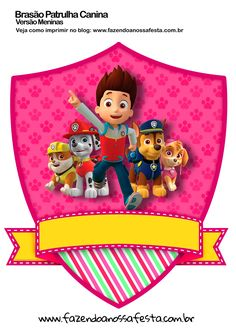 Paw Patrol Skye And Everest Personalised Birthday Cake Topper Edible By Sky Paw Patrol, Paw Patrol Cake, Paw Patrol Party, Escudo Paw Patrol, Imprimibles Paw Patrol, Paw Patrol Birthday Girl, Cumple Paw Patrol, Baby Posters, Kids Party Themes