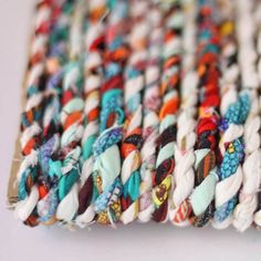 Make Twine from Fabric Scraps
