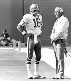 Joe Montana and Coach Walsh