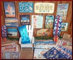 1-24-SCALE-DOLLHOUSE-MINIATURE-BEACH-HOUSE-DECOR-TIN-SIGNS-WALL-ART