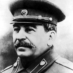 Joseph Vissarionovich Stalin was Premier of the Soviet Union from 1922 to1952. He was born December 18th 1887 and on March 5th 1953 he died, having ingested rat poisoning. It is unknown whether this was suicide or murder.  This photo was taken around 1943 by a Russian Government Photographer and belongs to The Russian State.