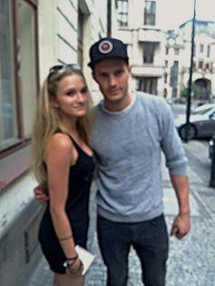 Jamie Dornan Life: New Fan Picture of Jamie in Prague
