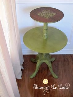 Antique Two Tiered Table