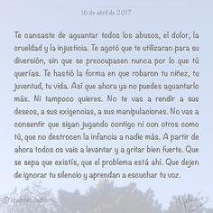 16 de abril de 2017 : #MicrocuentoZ #: #microcuento #microcuentos #microcuentos2017 #microrrelato  #apuntesdediario #cuento #breve #literatura #relato #texto #text #artistsoninstagram  #abril #april #201704 #mediodia #noon #cielo #sky #azul #diadelaesclavitudinfantil #díadelavoz #diadelavoz #díadelaesclavitudinfantil
