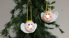Lighted Angel Ornament - Free Pattern