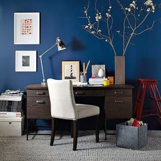 This is the exact color I want for the office and the modern industrial look I want. Love everything about it.