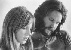 Pamela Courson & Jim Morrison