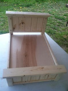 Farm House Style Doll Bed for 18 dolls American Girl