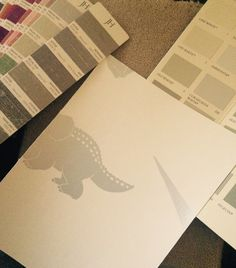 Paper samples and Paint Ideas