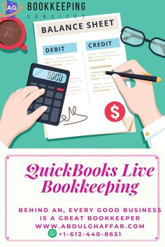 AG Bookkeeping Services Helping Small Business owners to clean up, catch up, and Financial Report to IRS. We are working the same way as intuit Teamwork on QuickBooks Live Bookkeeping Online Bookkeeping, Bookkeeping Services, Quickbooks Online, Teamwork, Accounting, Live, Business, Store, Business Illustration