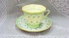 Royal Grafton England Bone China Teacup and Saucer by EtagereLLC, $28.00
