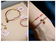 www.poetesbcn.com  #pulsera # bracelet #pink #handmade #Poètes #Barcelona #handcrafted #bijoux #jewelry #jewellery #lacoqueteria #tengotreintaypico