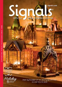 Another one of my favorites for unusual gifts. Signals Catalog.   Gifts that Inform, Enlighten & Entertain