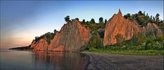 Scarborough Bluffs  by Rodrick Dale, via Flickr