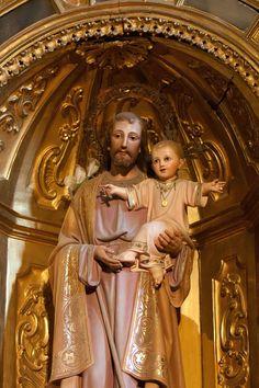 Saint Joseph, Catholic Saints, Statues, Princess Zelda, Faith, Fictional Characters, Saints, Sagrada Familia, San Jose