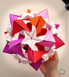 Elegant origami rose leaf best photos for world pinterest origami jadis kusudama tutorial mightylinksfo