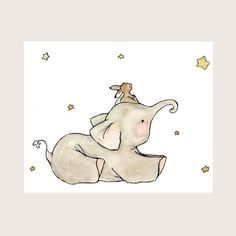 Image shared by Find images and videos about cute, drawing and illustration on We Heart It - the app to get lost in what you love. Art And Illustration, Illustration Mignonne, Elephant Illustration, Illustration Fashion, Illustrations Posters, Image Elephant, Baby Elephant, Elephant Nursery, Lapin Art