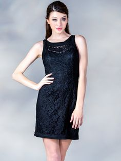 Embroider Cocktail Dress. Style #: C1900. Get yours today at SungBoutiqueLA.com