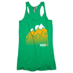 Phish Women's Throwback Tank Top on Kelly