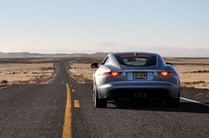 Open roads encouraged us to unleash the Jag's supercharged-six. Hence the excessive tire wear.
