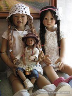 Девчонки-Химкомпания 2007. Летнее настроение. II часть / Коллекционные куклы Annette Himstedt / Бэйбики. Куклы фото. Одежда для кукол