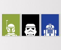 Star Wars Prints Star Wars Printables Minimal by ClaresPrintables