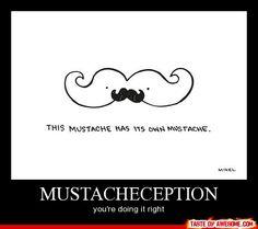 Mustacheception