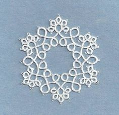 Image result for Peacock Tatting Pattern