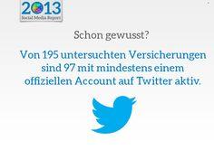 #Versicherungen auf #Twitter
