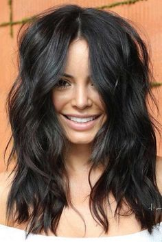 Shag Haircut For Dark Hair Long Hairstyle shaghaircut haircuts longhaircut wavyhair blackhair 66217057007632705 Long Face Hairstyles, Trending Hairstyles, Bob Hairstyles, Long Hairstyle, Haircuts, Medium Dark Hairstyles, Layered Hairstyles, Headband Hairstyles, Medium Hair Styles