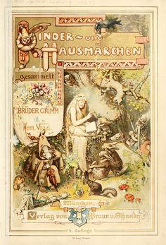 Hermann Vogel illustration  Kinder- und Hausmärchen gesammelt durch die Brüder Grimm 1910