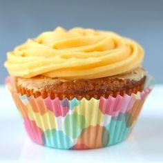 Passion Fruit and Vanilla Bean Cupcakes